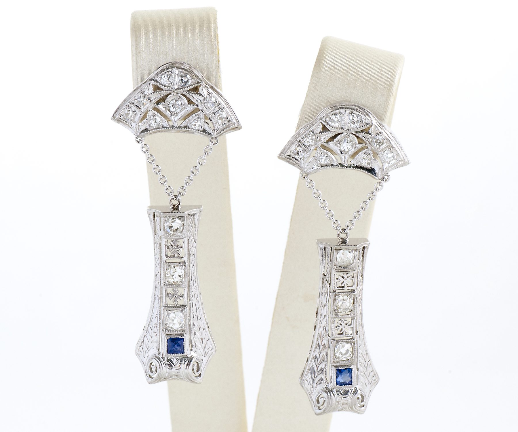 Art Deco Diamond Sapphire