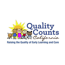 Quality Counts California is a statewide system of locally-implemented quality rating and improvement systems (QRIS), which helps to connect parents and families to high-quality early learning and care programs, and ensures that infants, toddlers, and preschool-age children have quality early learning experiences in their local communities.