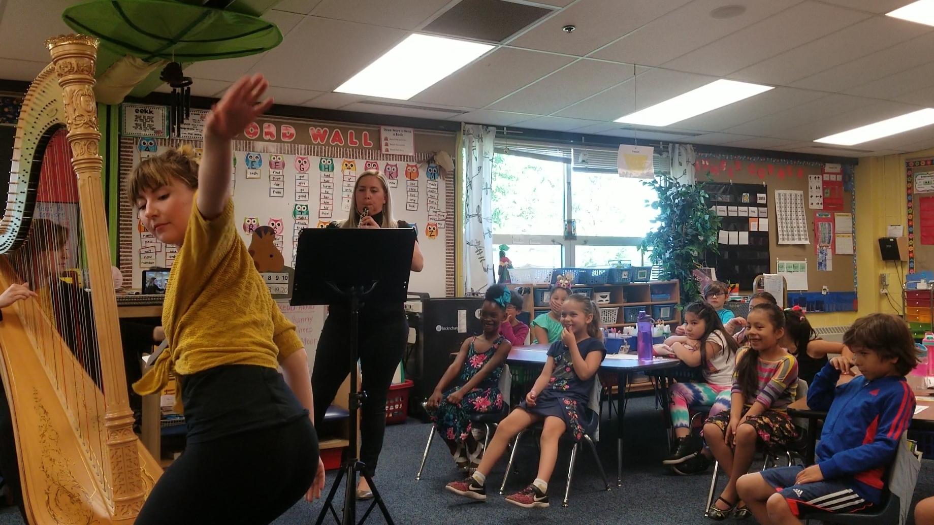 Garlough Environmental Magnet School - 1st grade classes