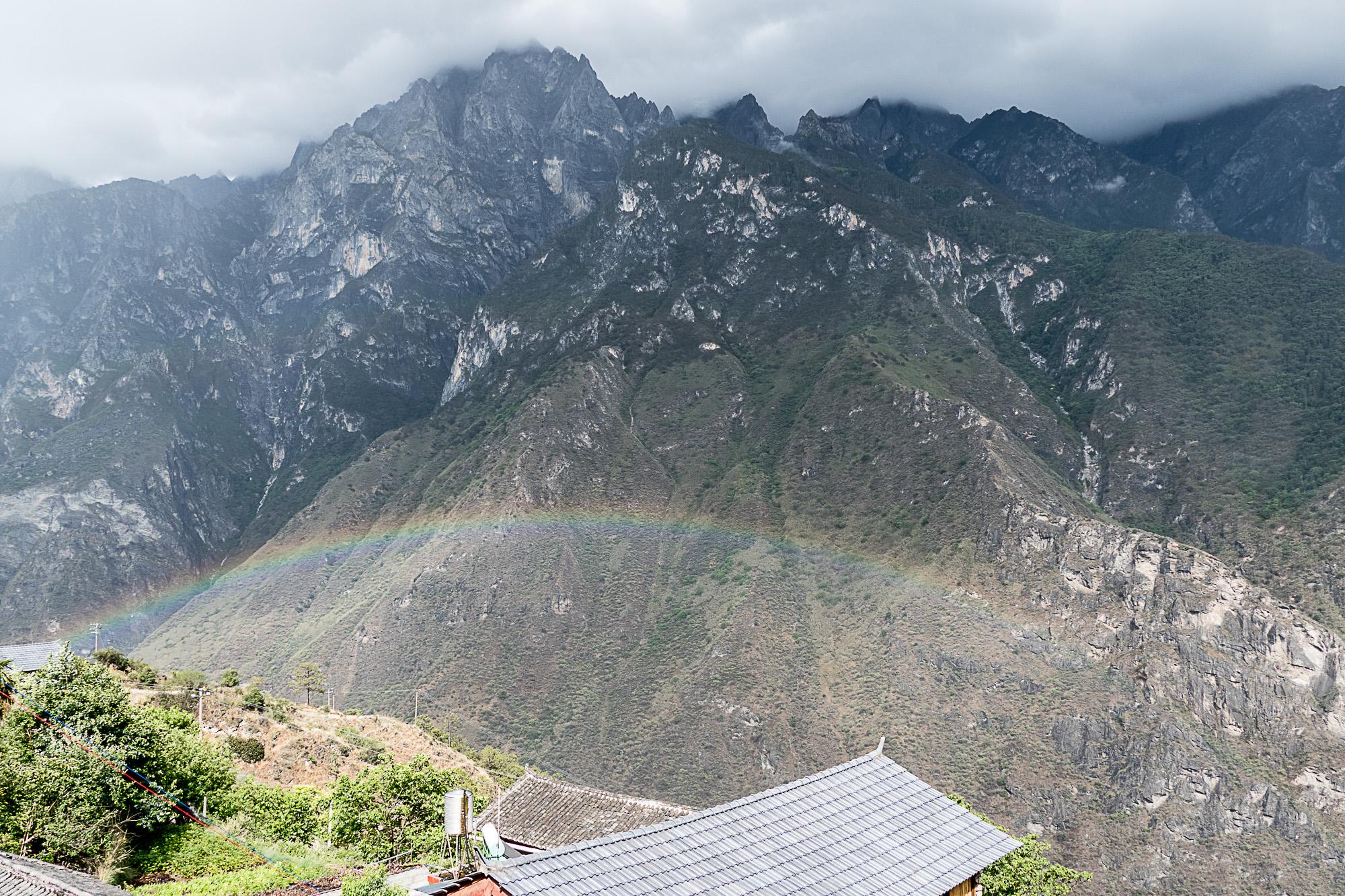 Rainbow over the gorge