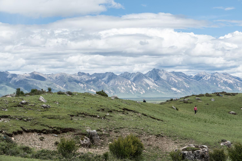 Tibetan scene
