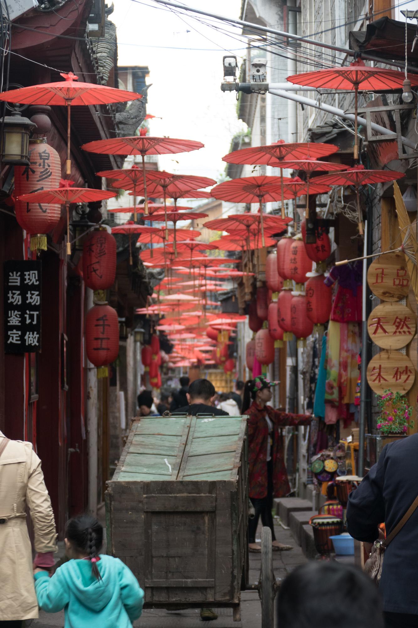 Picturesque alleyway