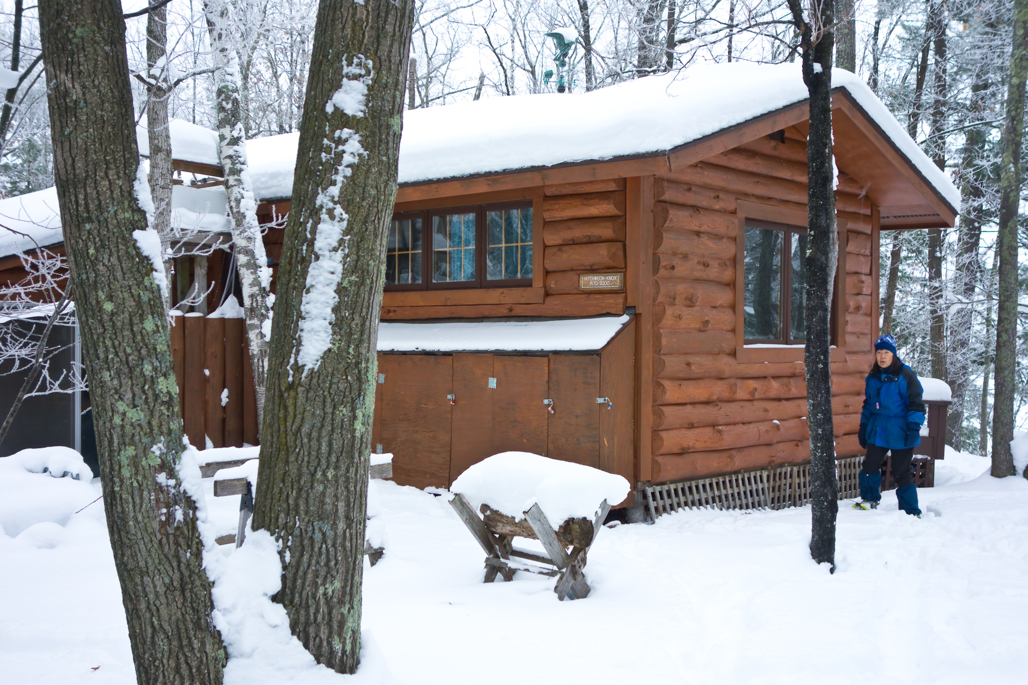 Back of the cabin