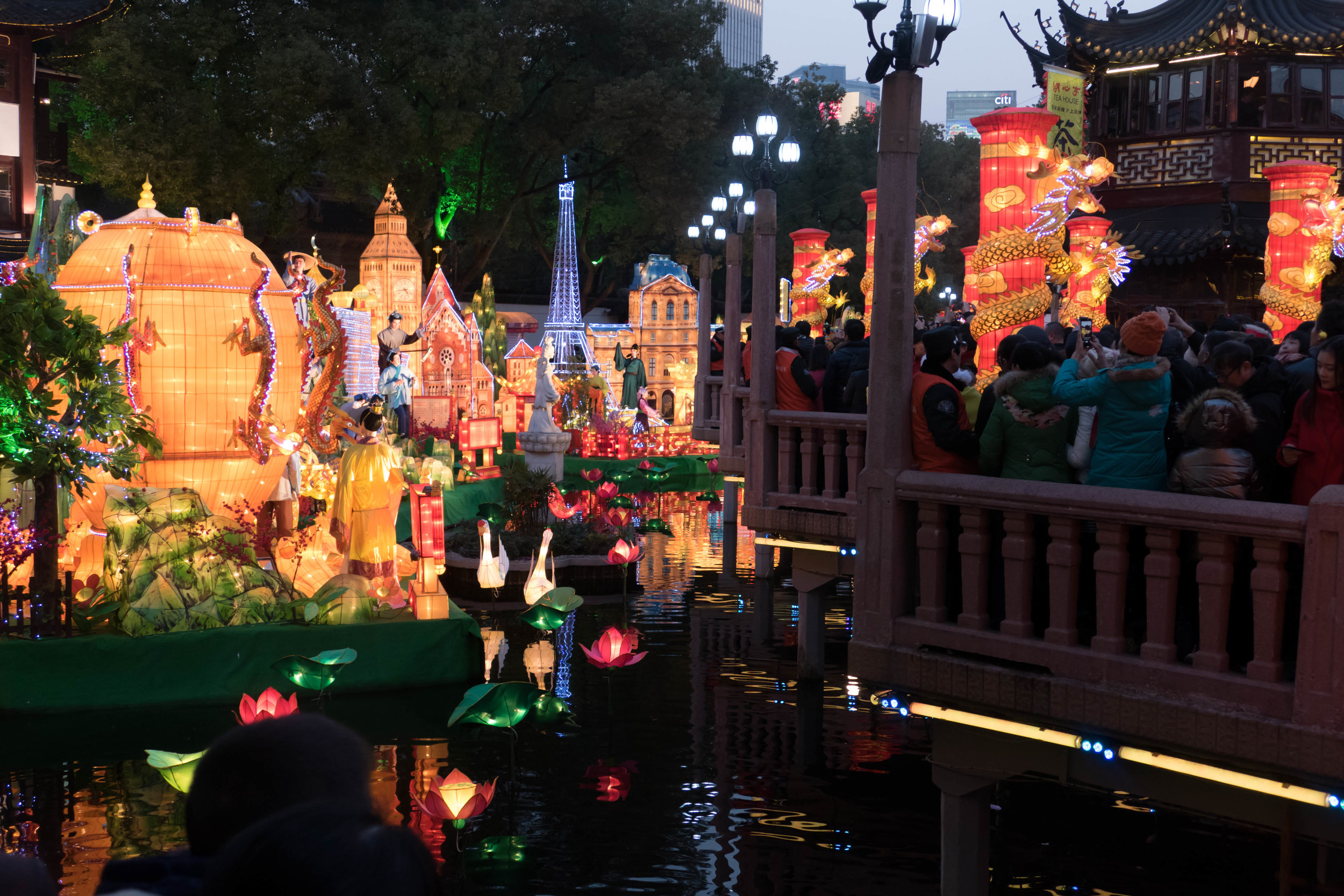 Decorated for the Lantern Festival