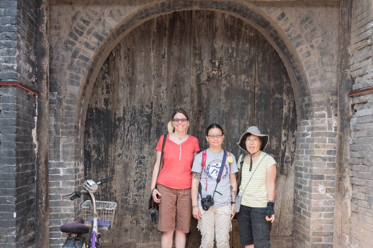This is the door to our Airbnb in Pingyao. It looked much better inside.