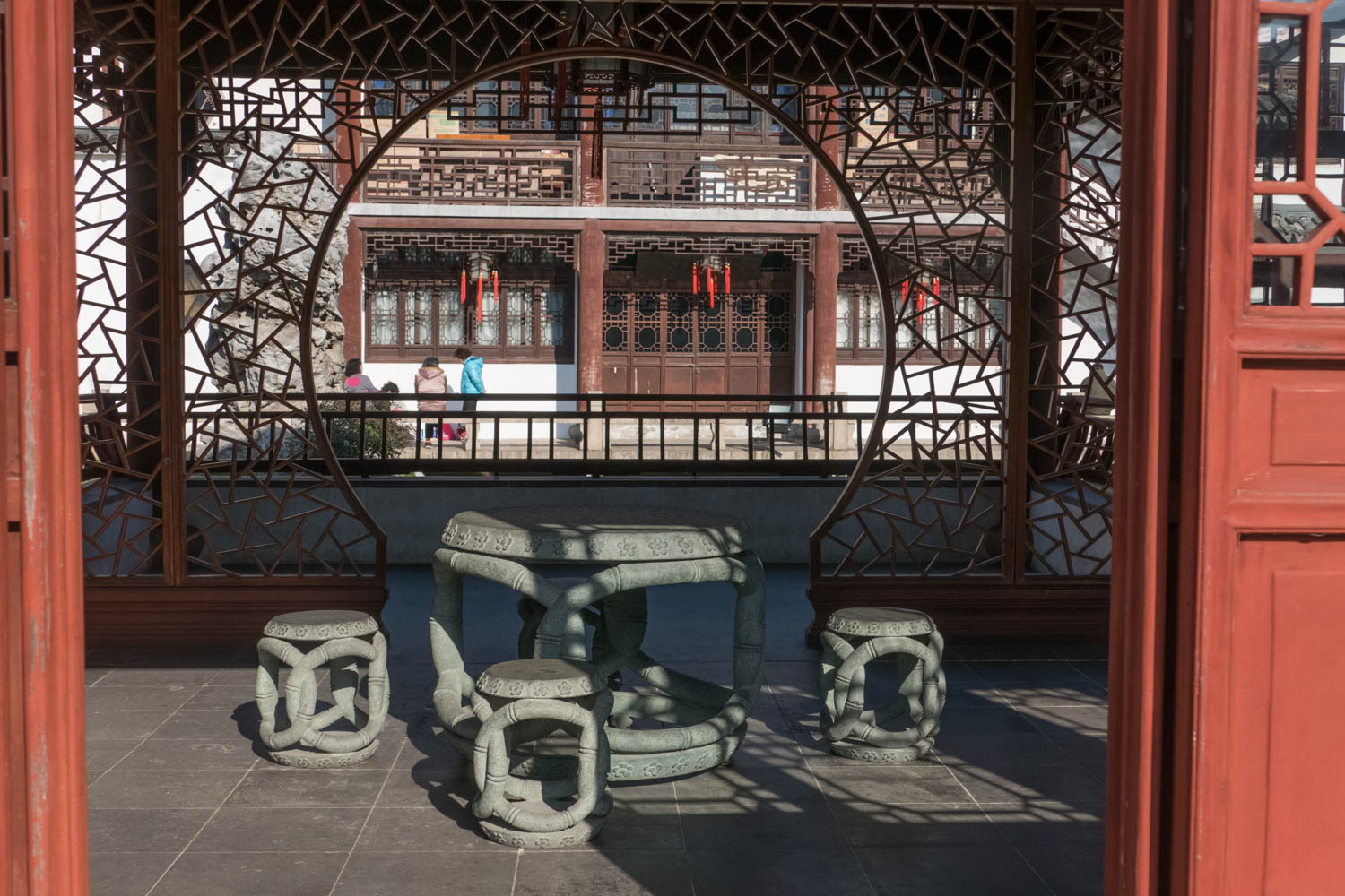 The Confucian Temple provides a quiet respite from the city