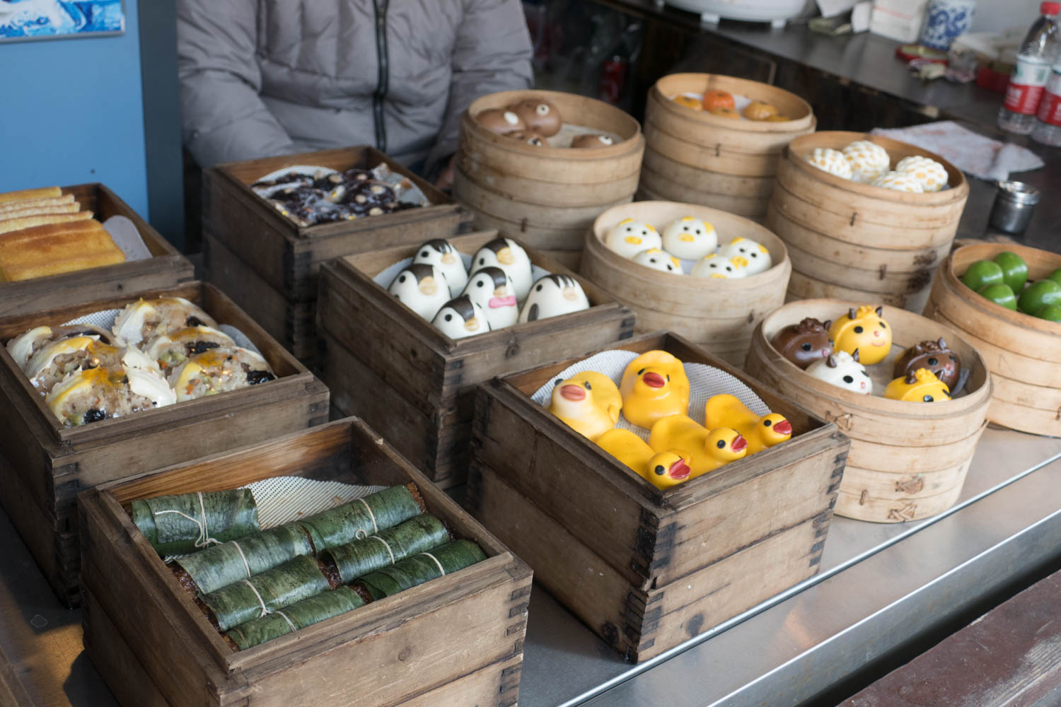 There's a large variety of street food available