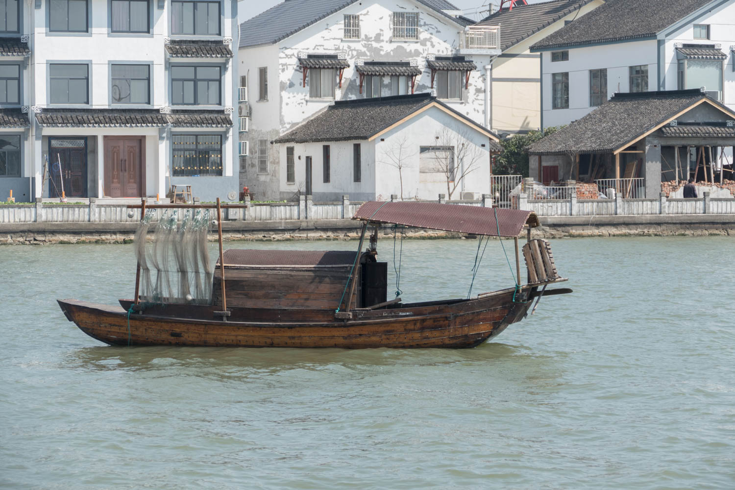 An ancient boat