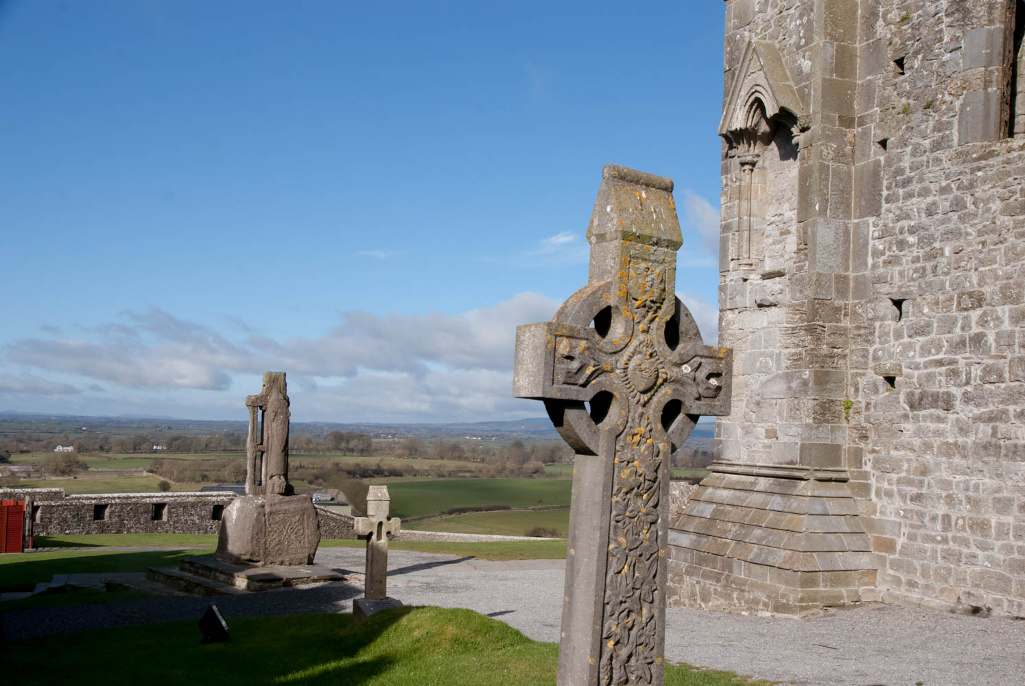 Irish or high crosses