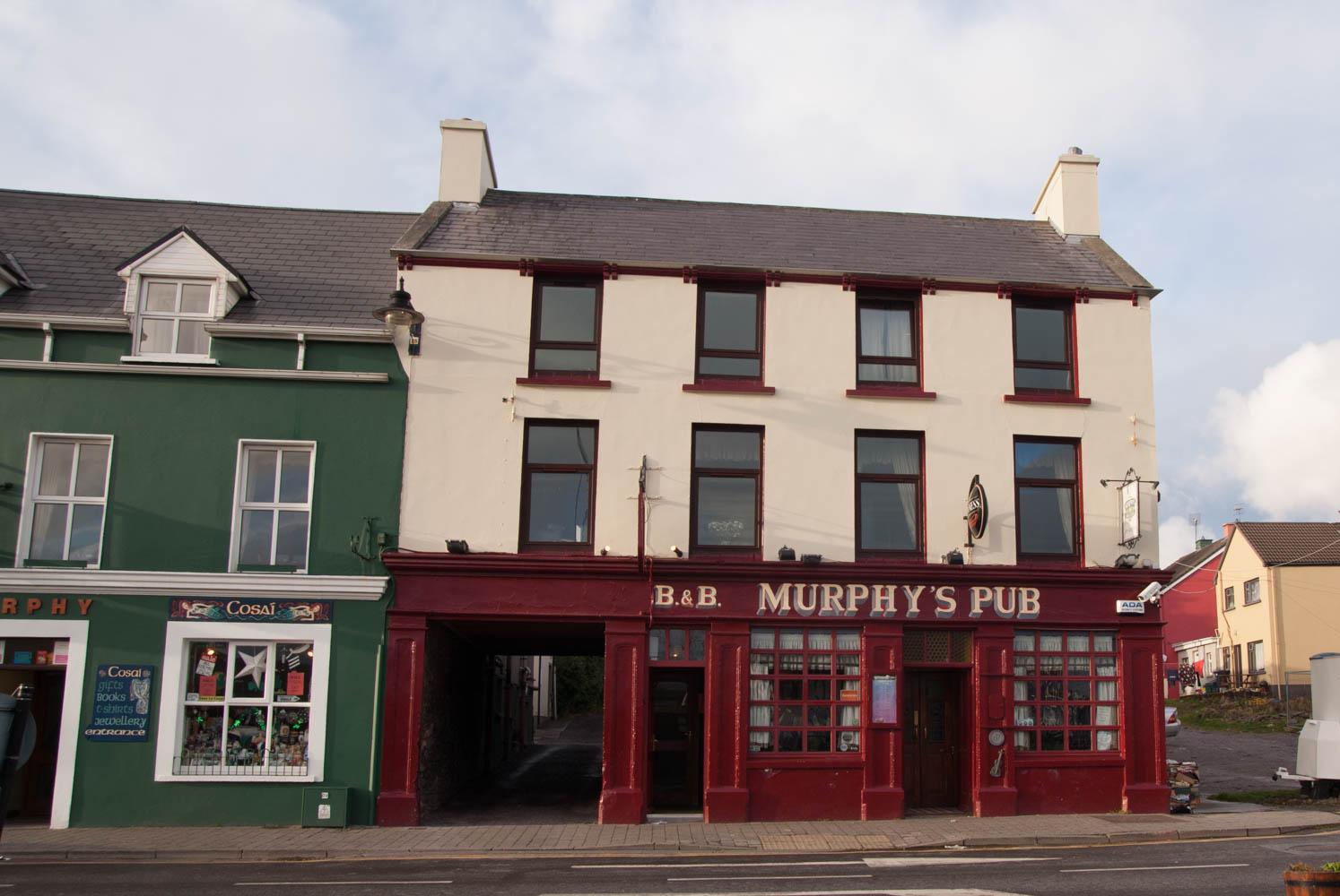 Murphy's Pub is a famous pub.