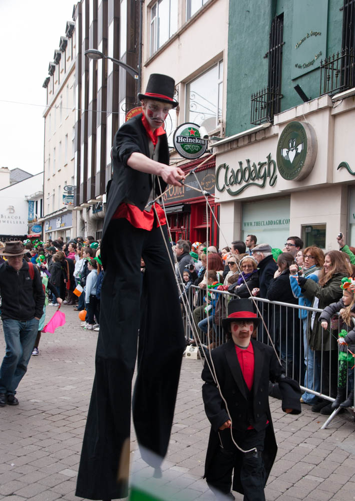 St. Patrick's Day parade in Galway
