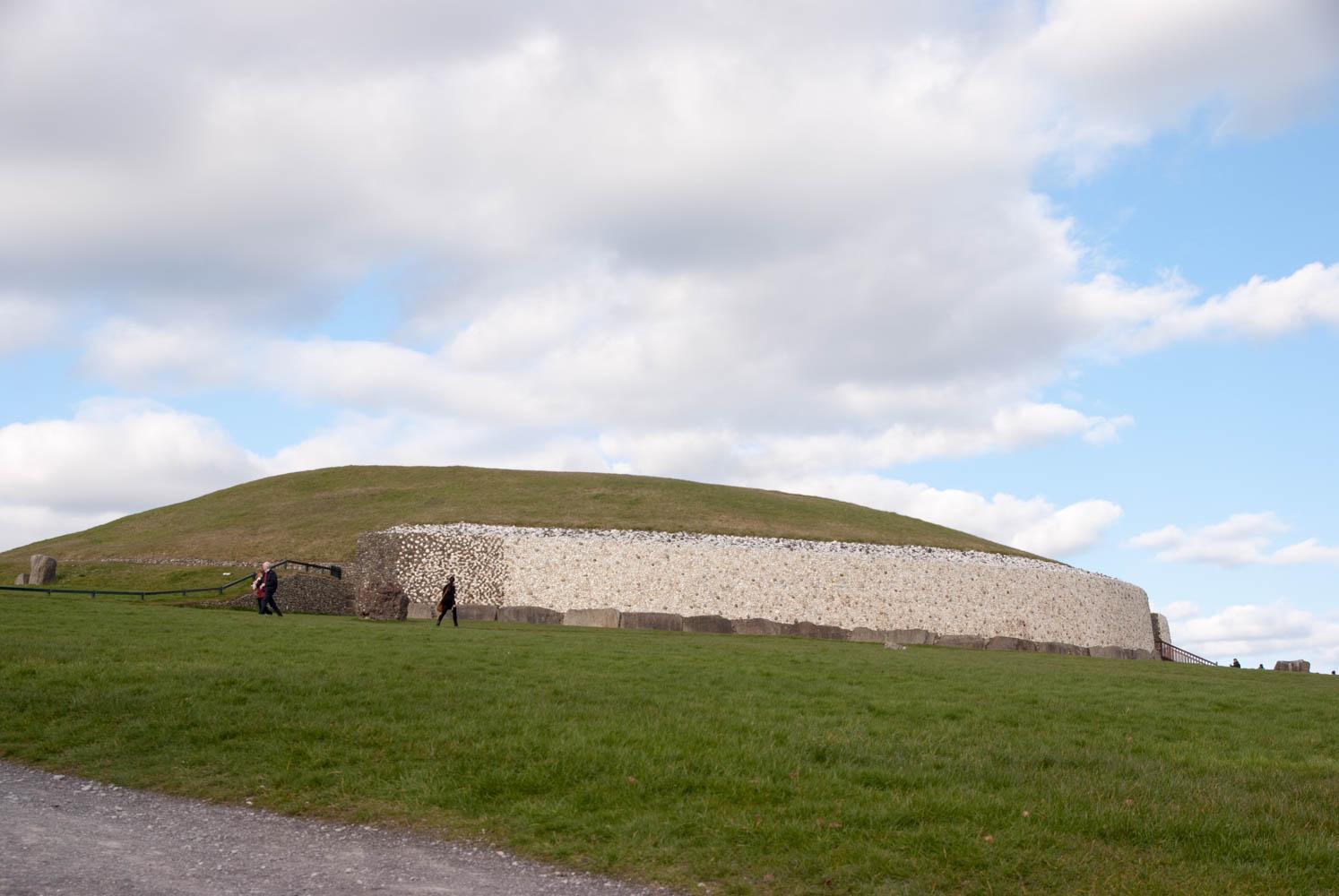 The mound at Newgrange
