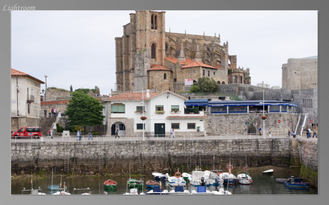On the drive we passed the harbor of Castro Urdiales with its castle on the hill
