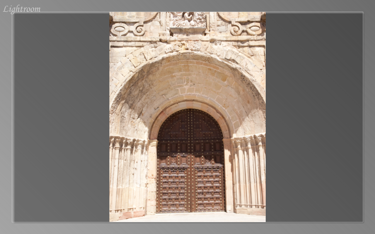Doorway of Siguenza Cathedral