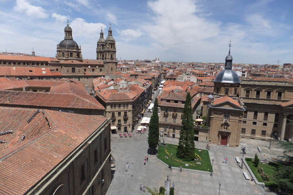 View of Salamanca from Cathedral