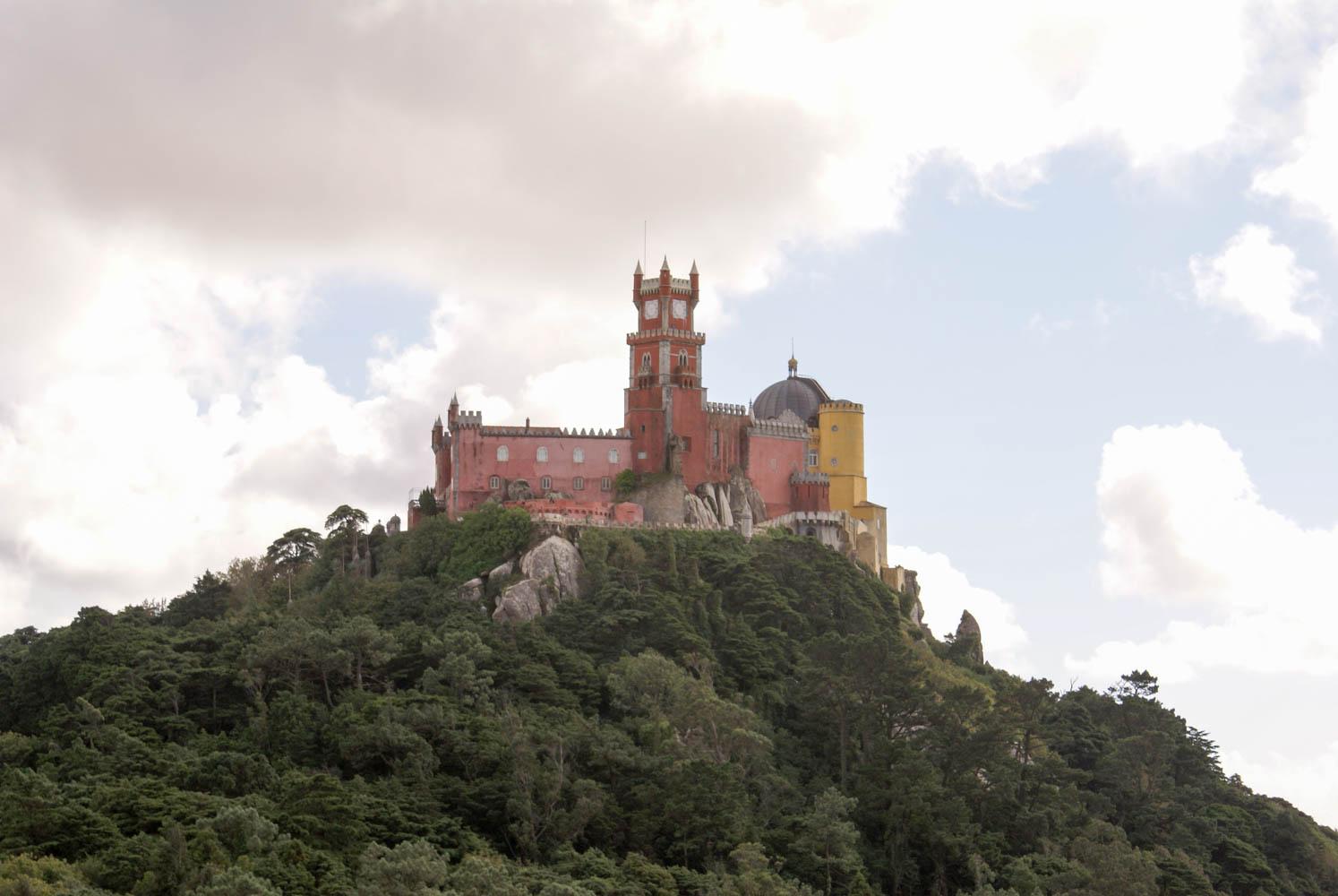 Castelo de Pena dominates the hill