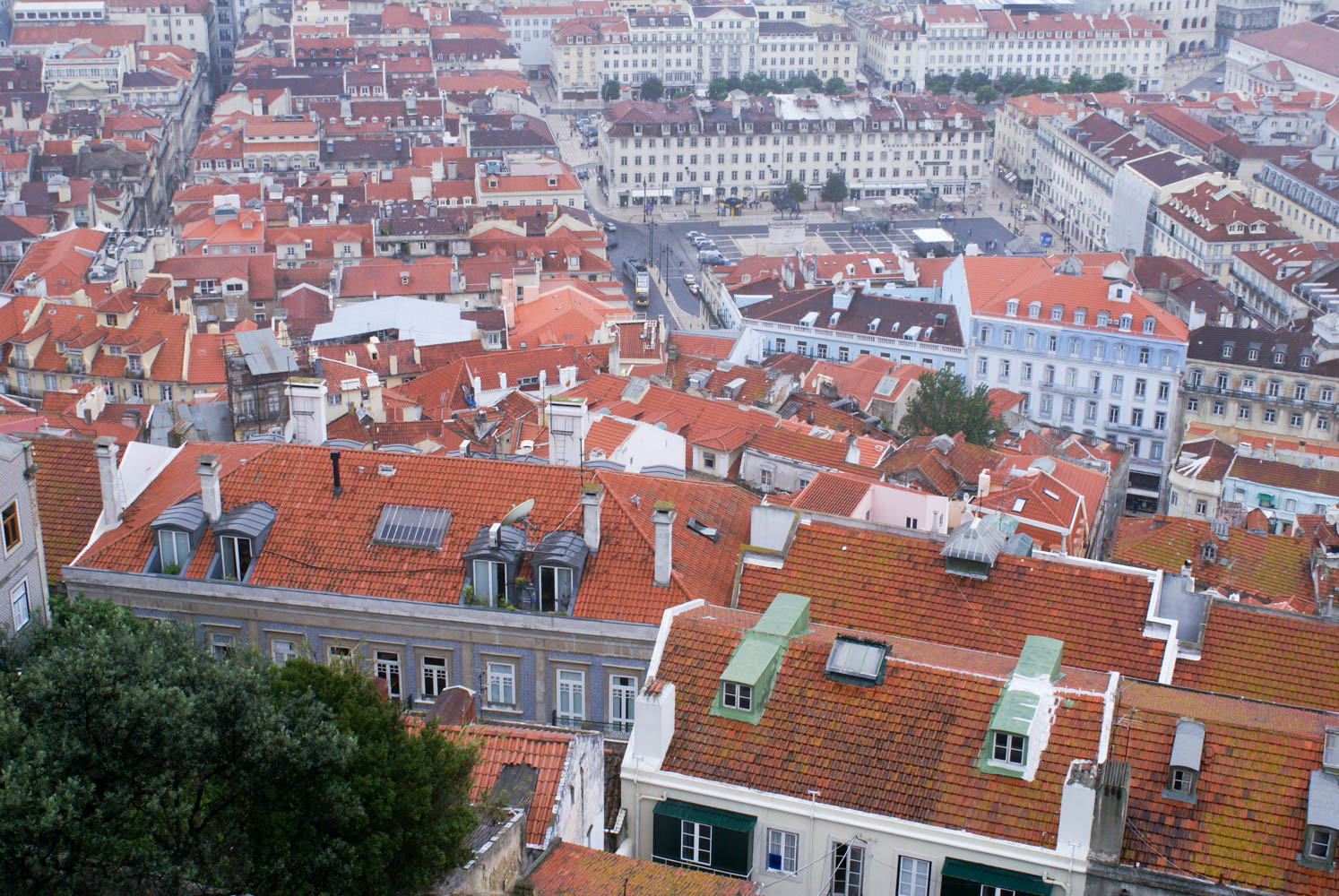 View of Lisbon from Castle of Sao Jorge
