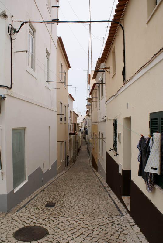 Nazare alleyway