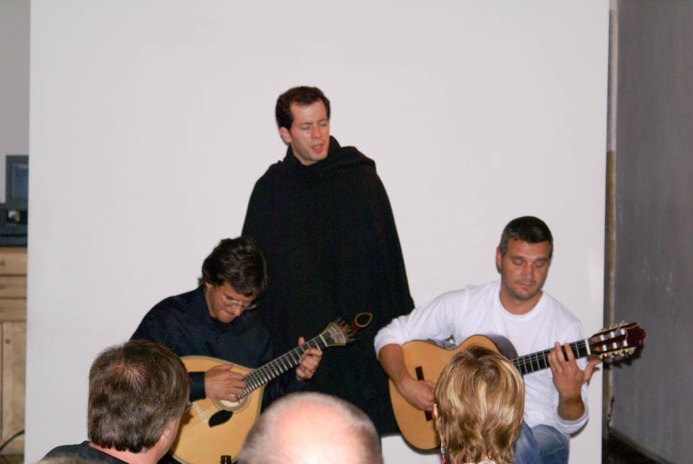 Fado singing in Coimbra