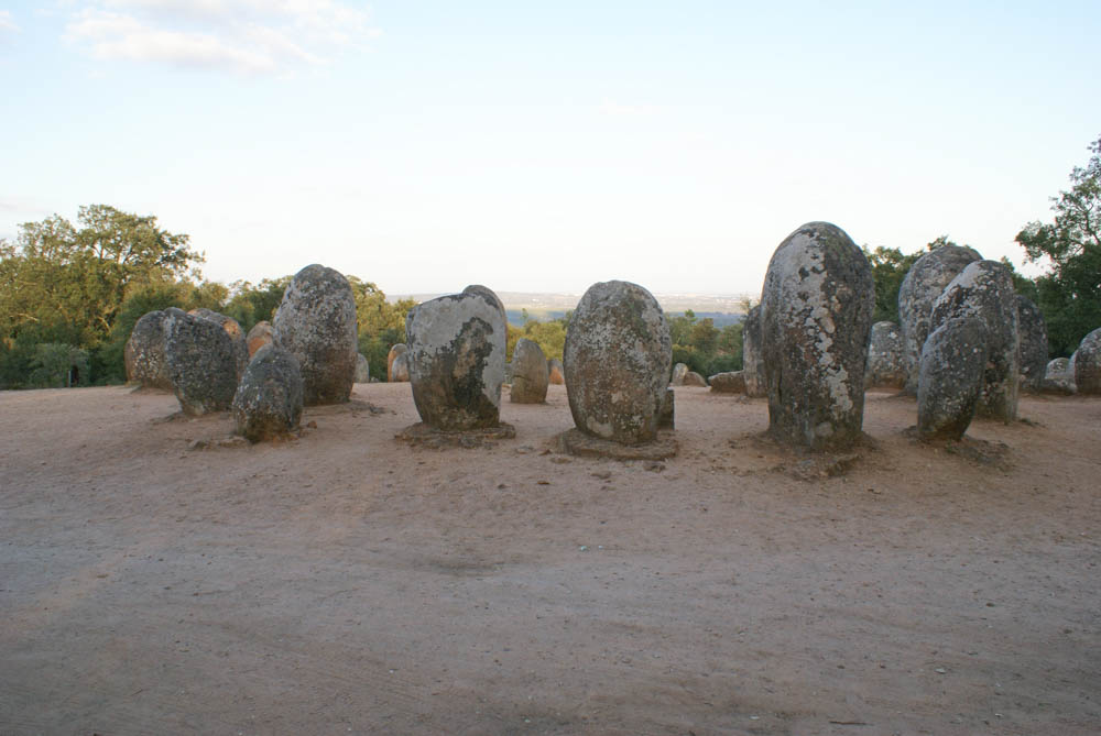 Cromlegue dos Almendres near Evora