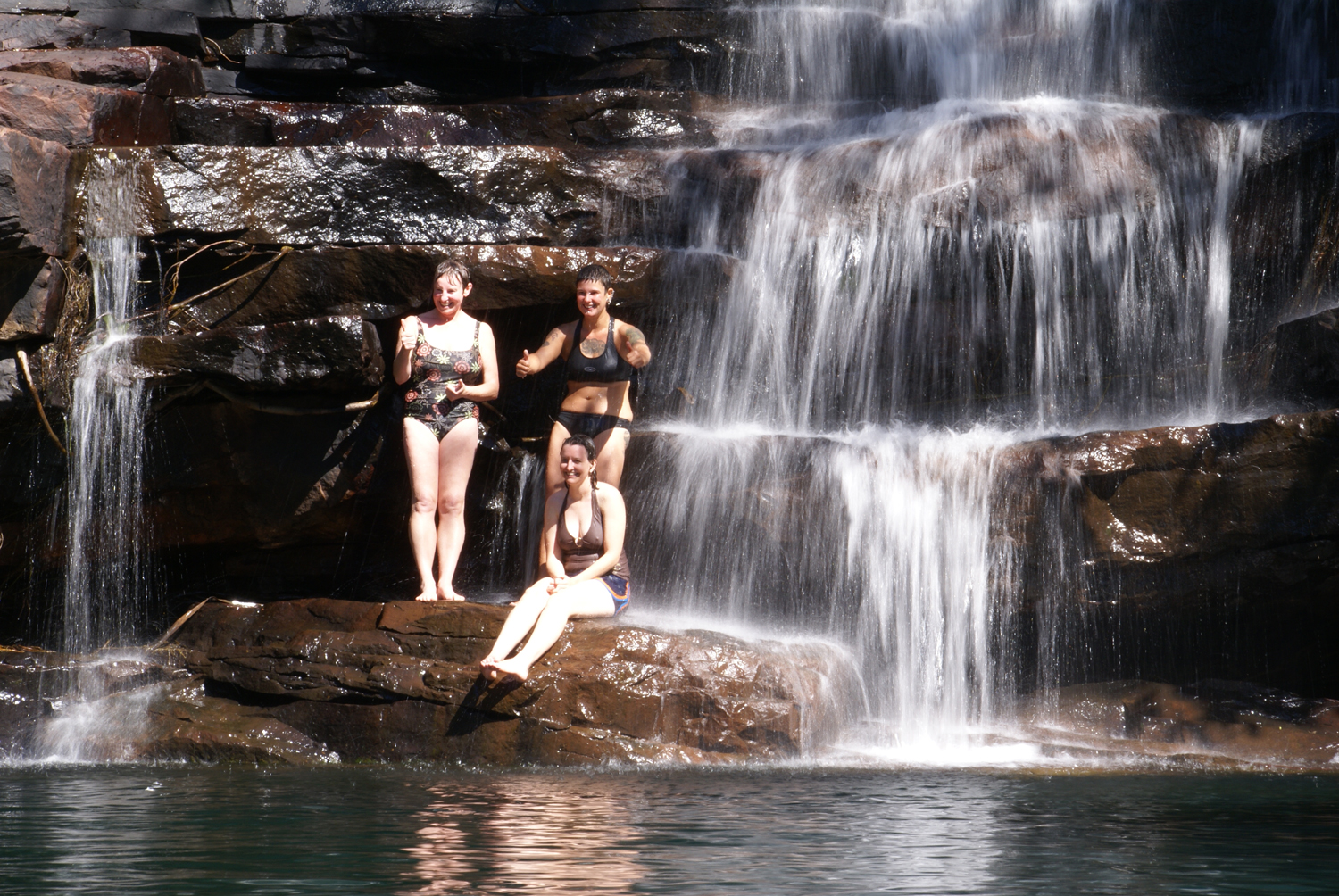 Galvan's Gorge swimming hole