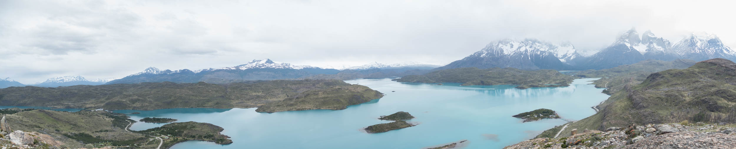 180 degree panoramic view from the Mirador Condor