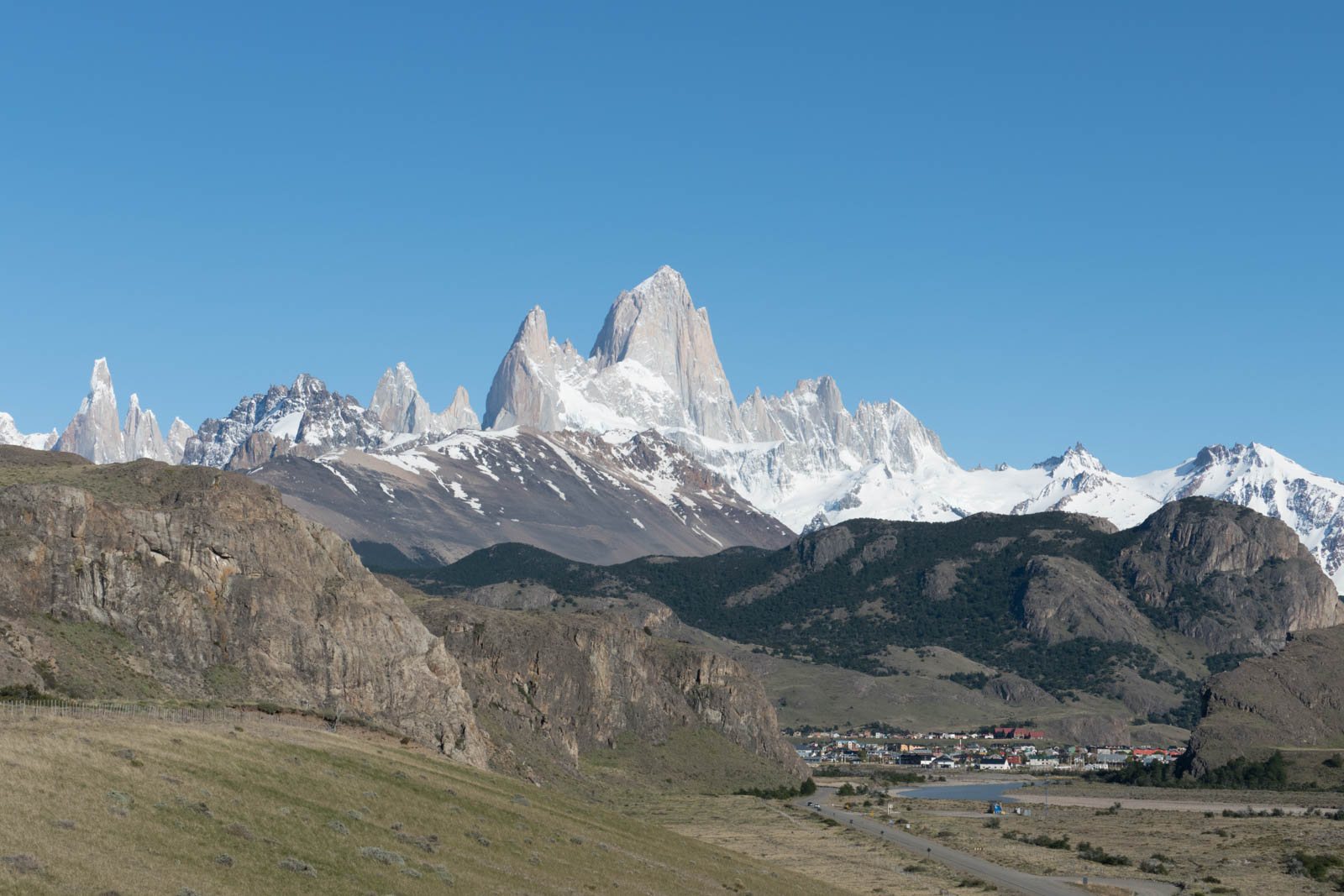FitzRoy and the town El Chalten