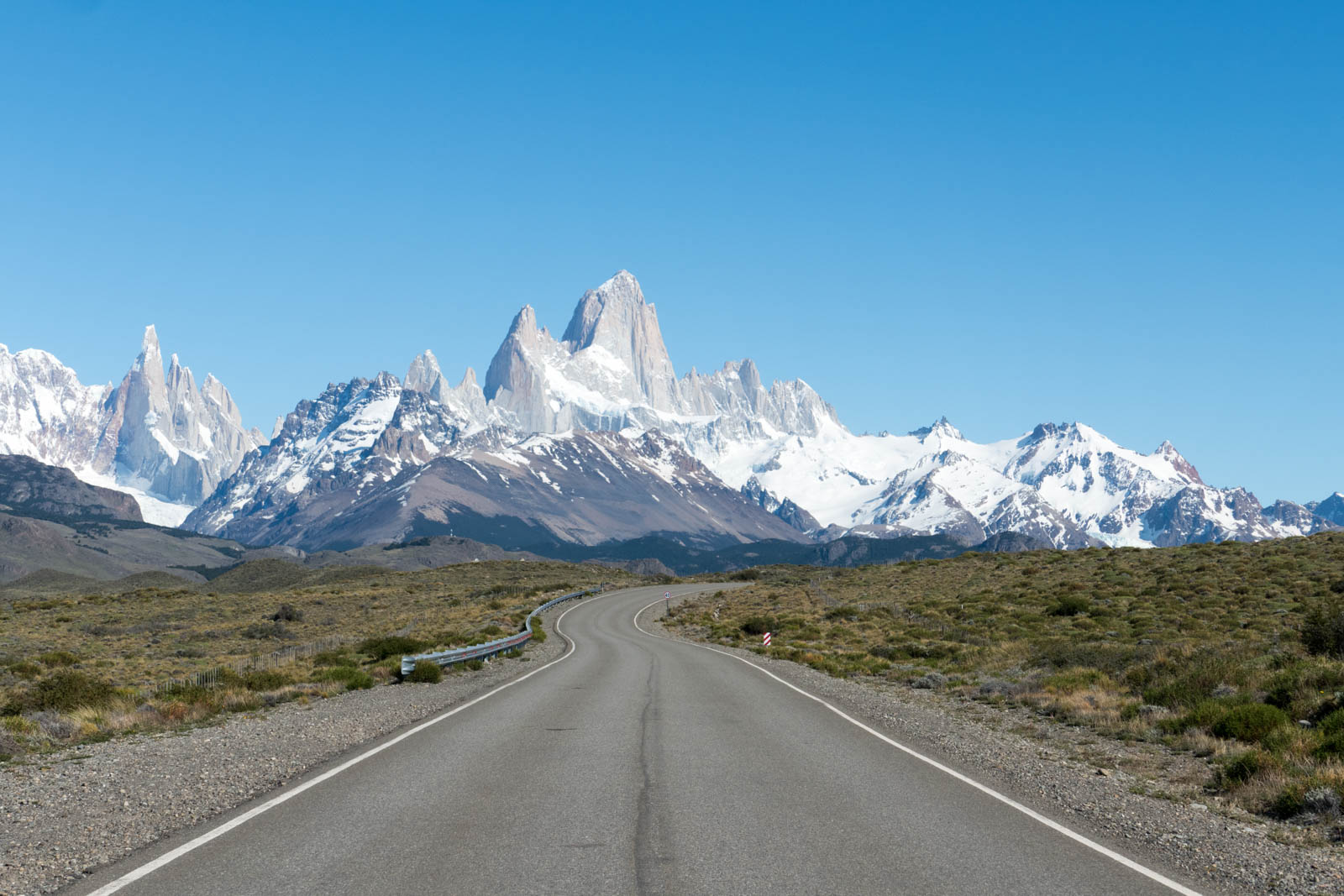 Approach to El Chalten and FitzRoy