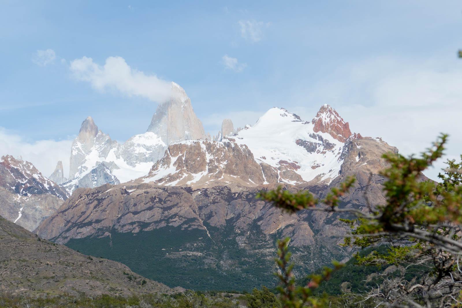 The smoking mountain Chalten, or FitzRoy