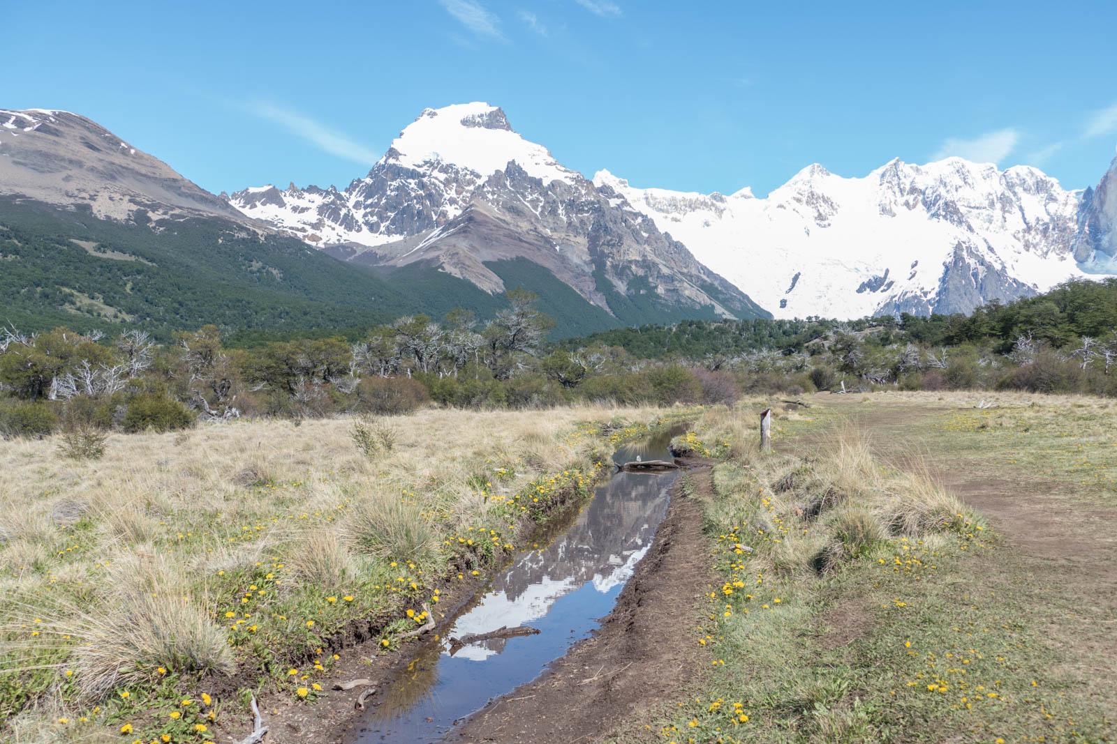On the hike to Laguna Torre