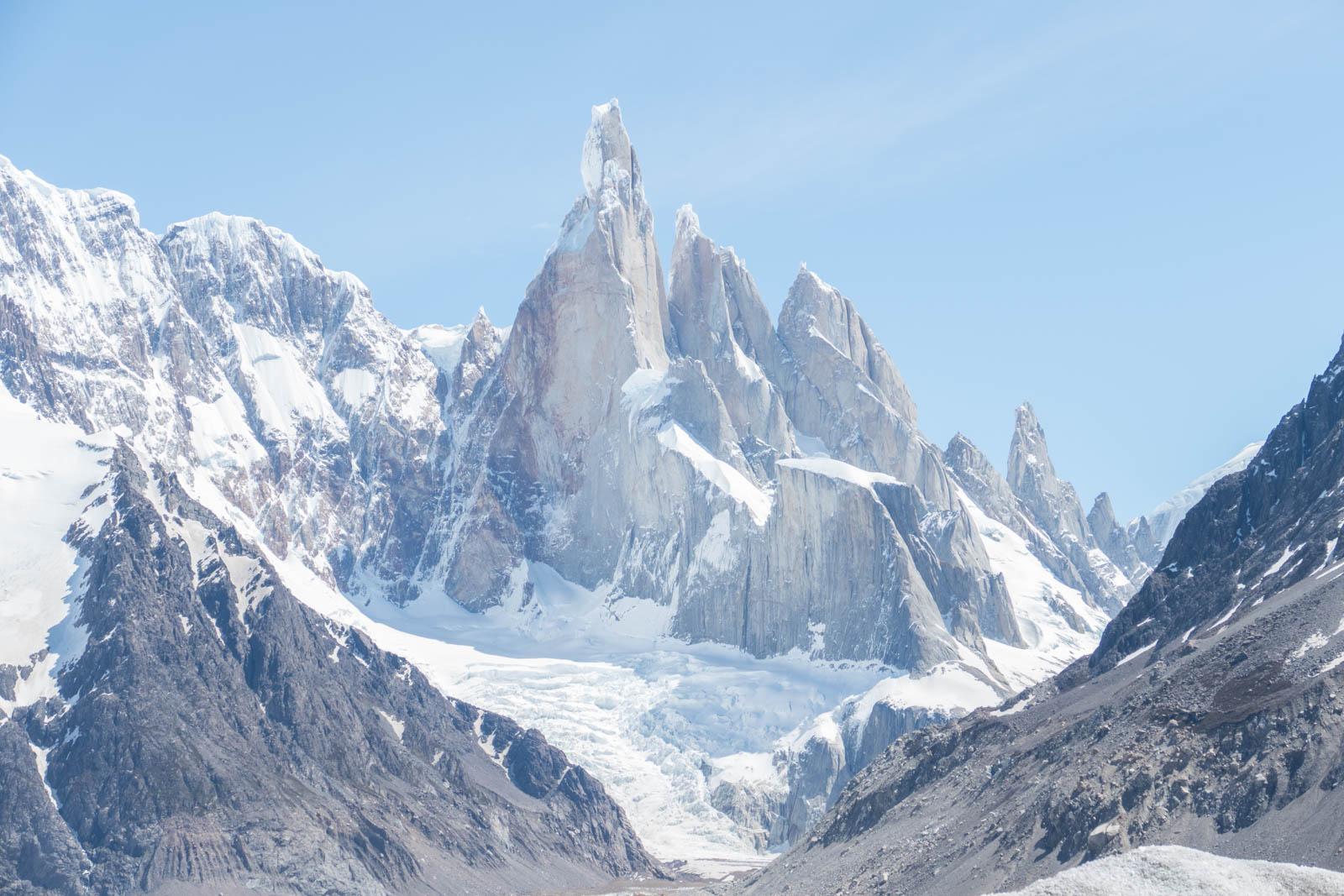 Cerro Torres and Grande glacier