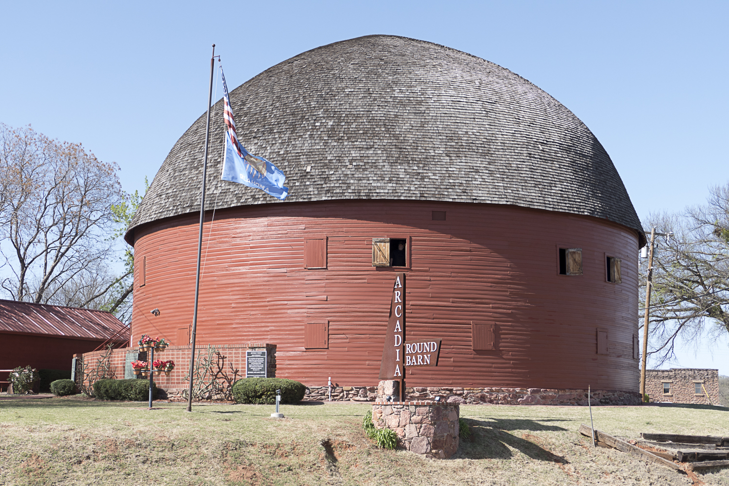 The Round Barn in Arcadia, OK on route 66