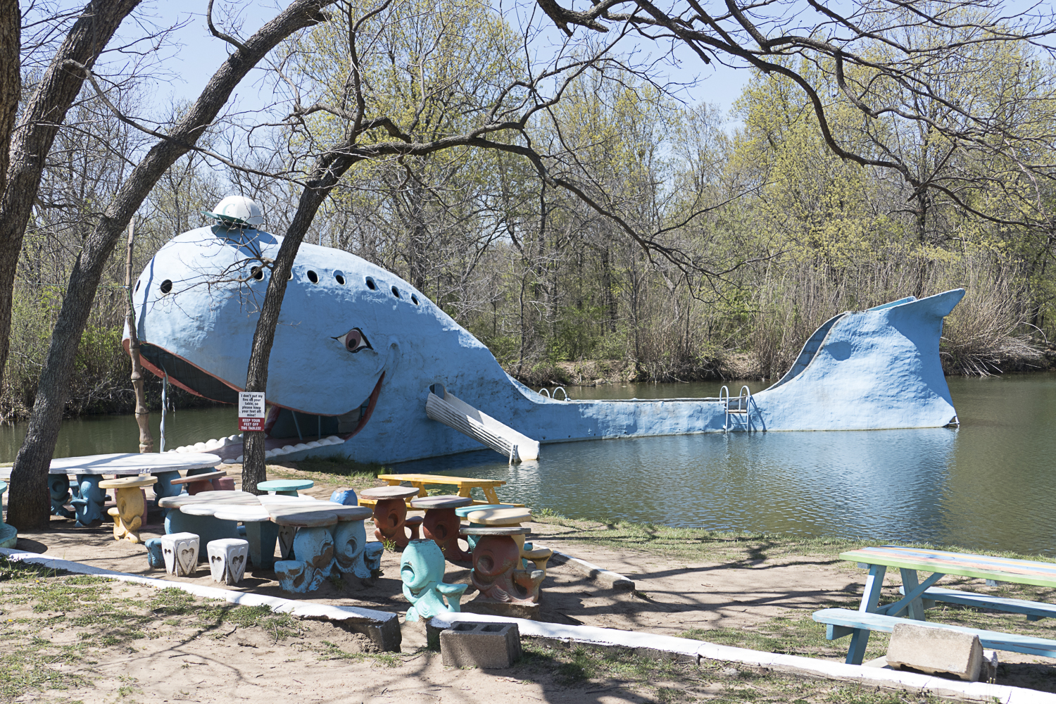The Blue Whale near Catoosa, OK on route 66