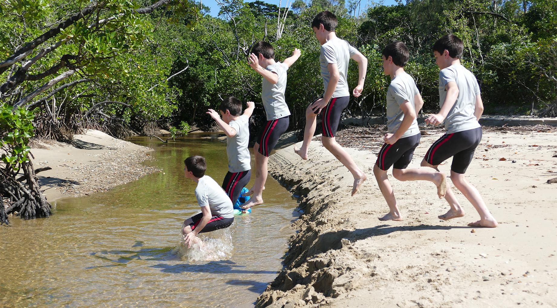 Fun at Cow Bay