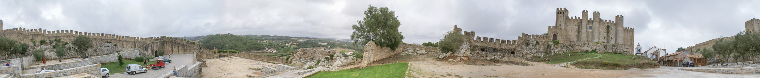Panorama of Obidos