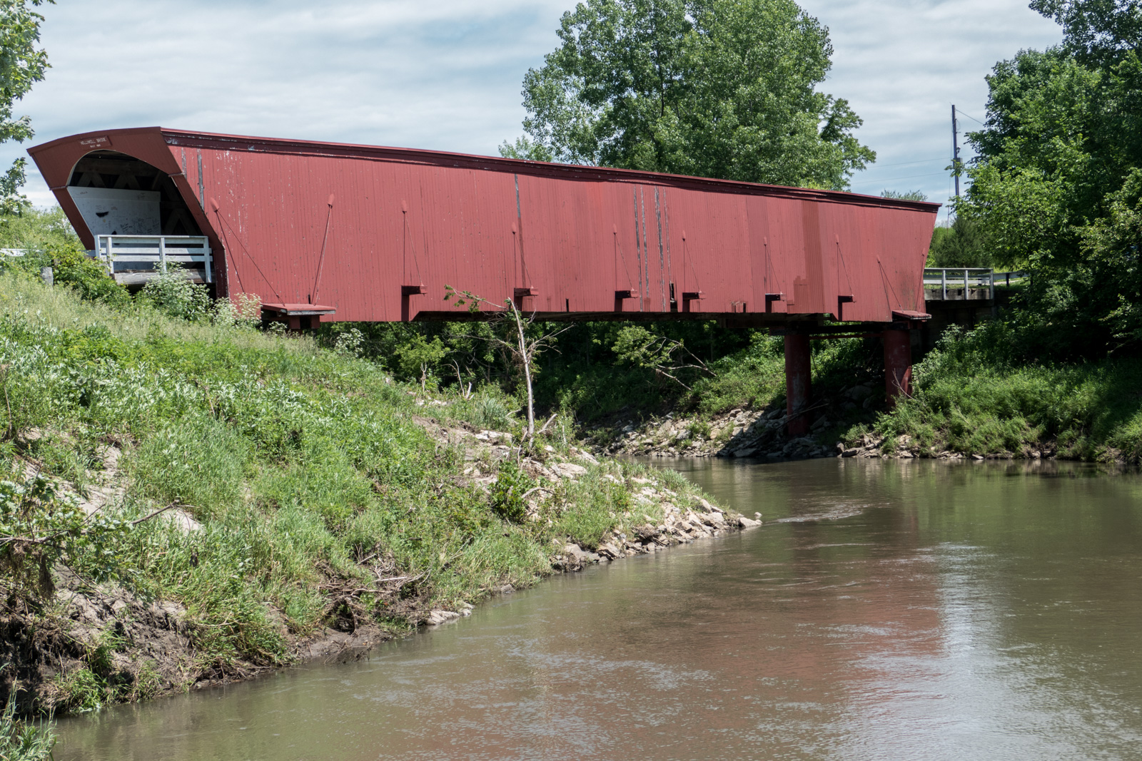 Holliwell Bridge near Winterset, IA