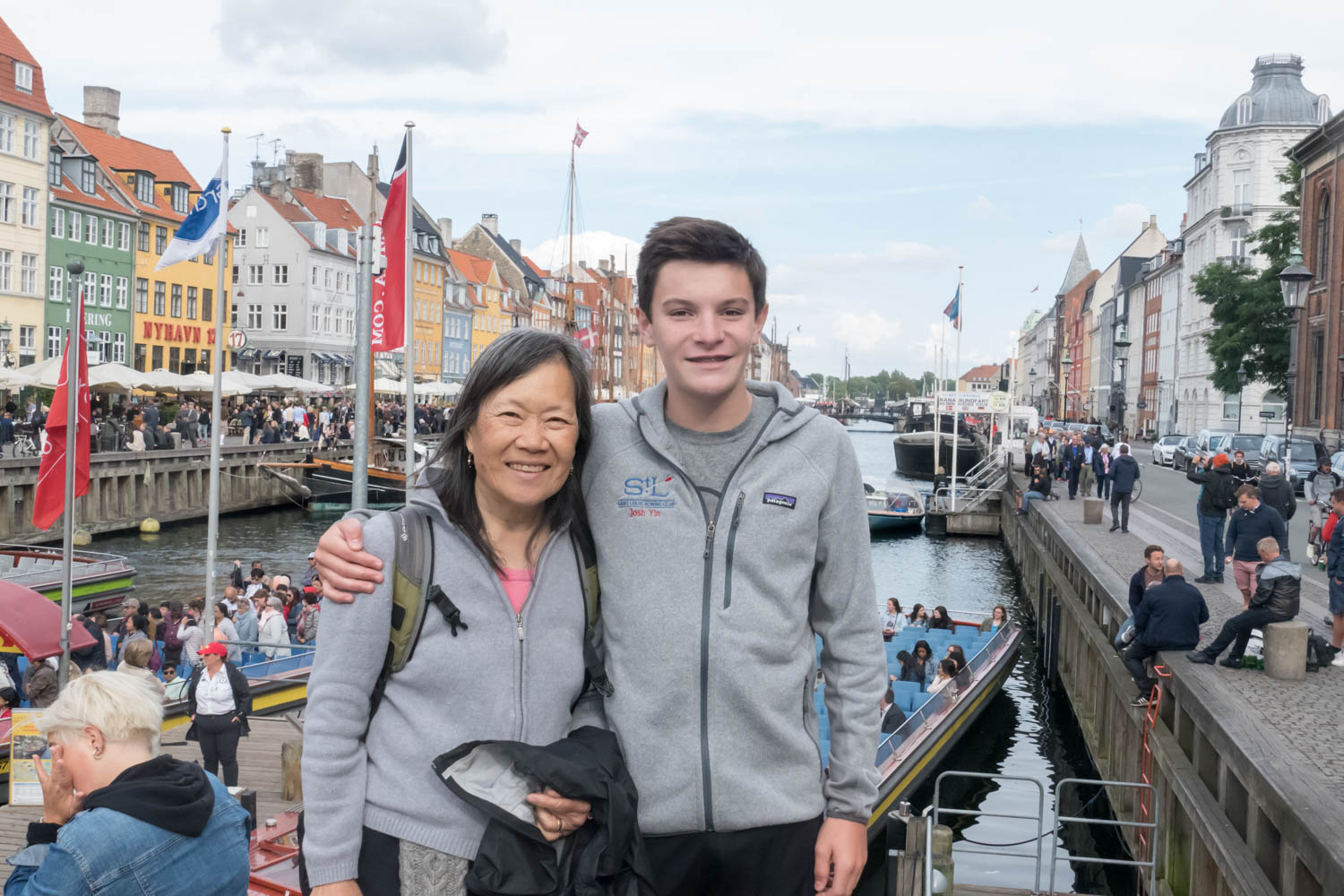 Nyhavn, a scenic but touristy area