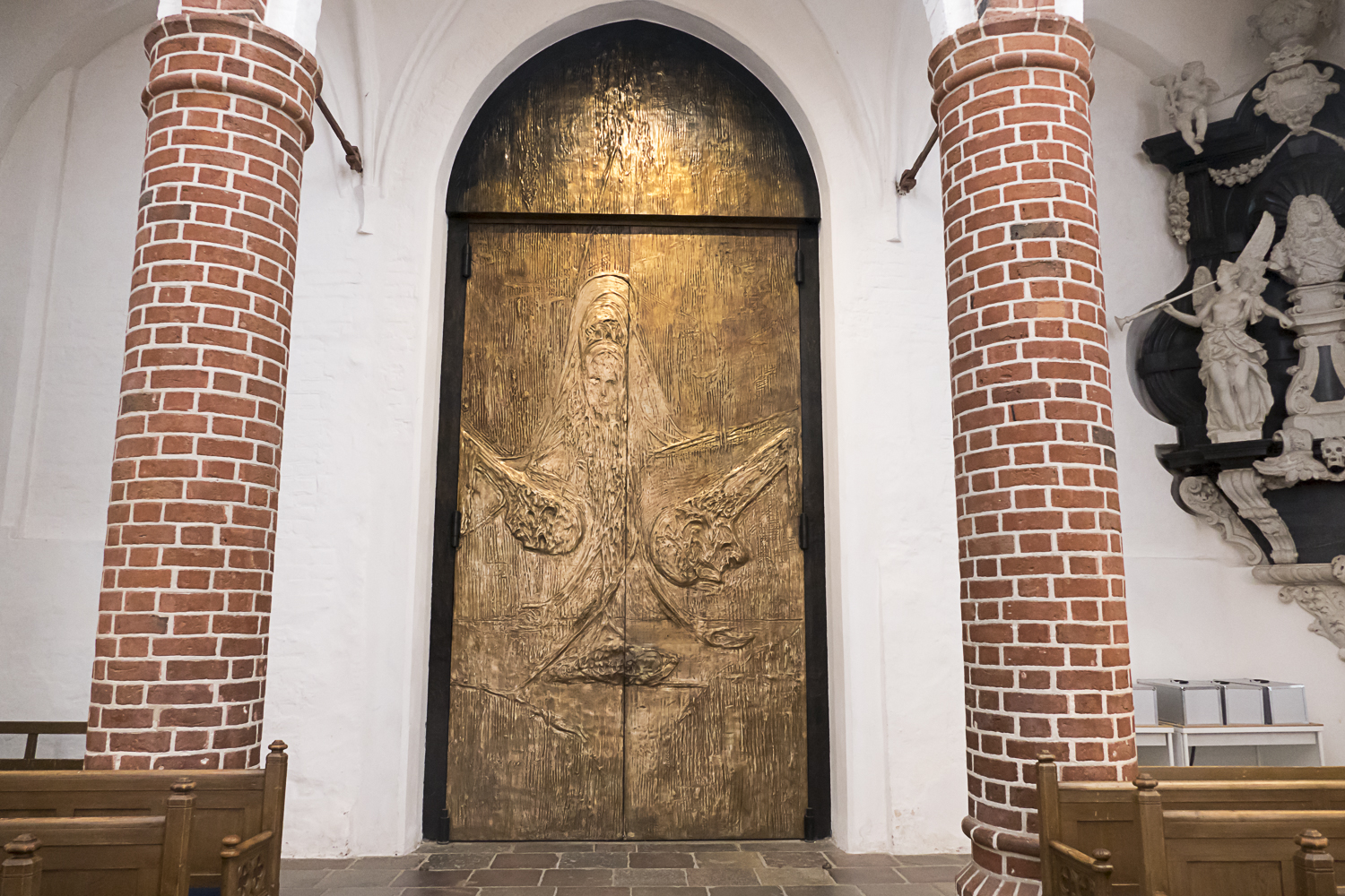 Door of Roskilde Cathedral