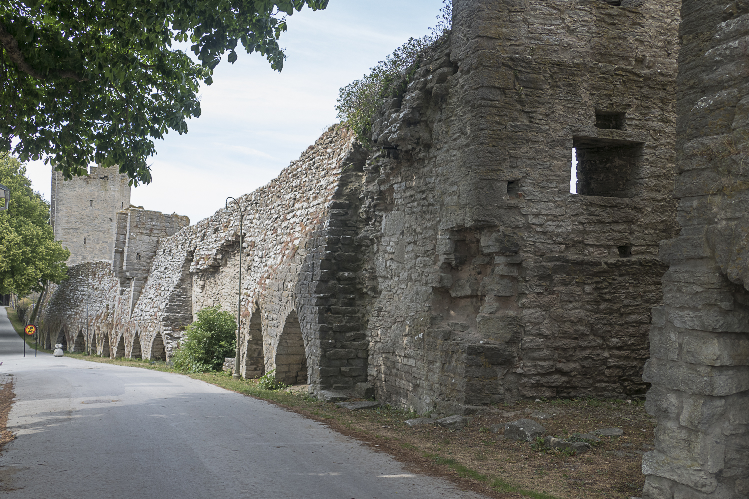 The Visby town wall