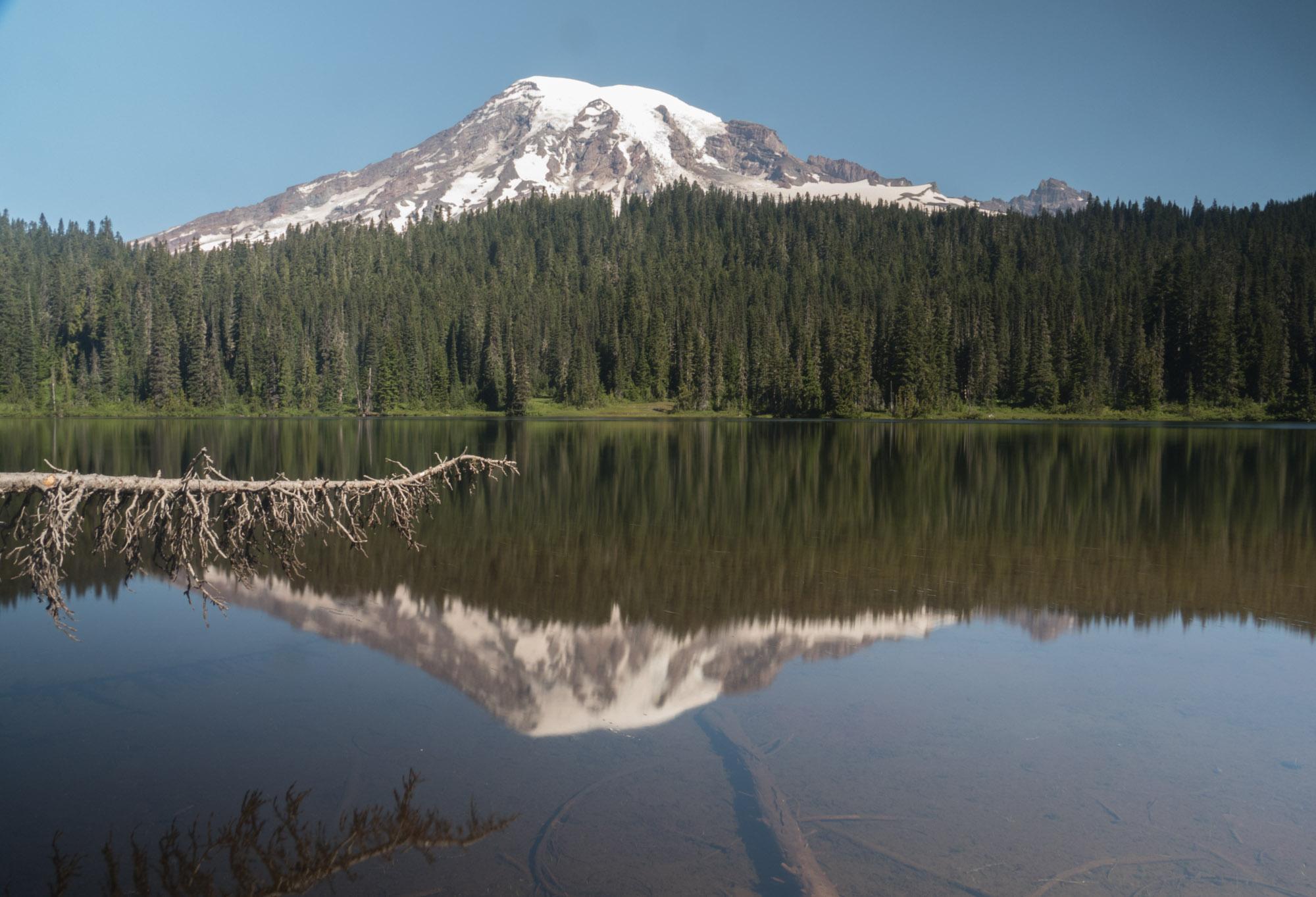 Mt. Ranier at Reflection Lakes