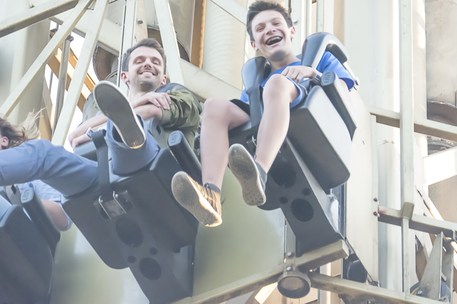 This ride in Tivoli Garden is a free fall from a great height.