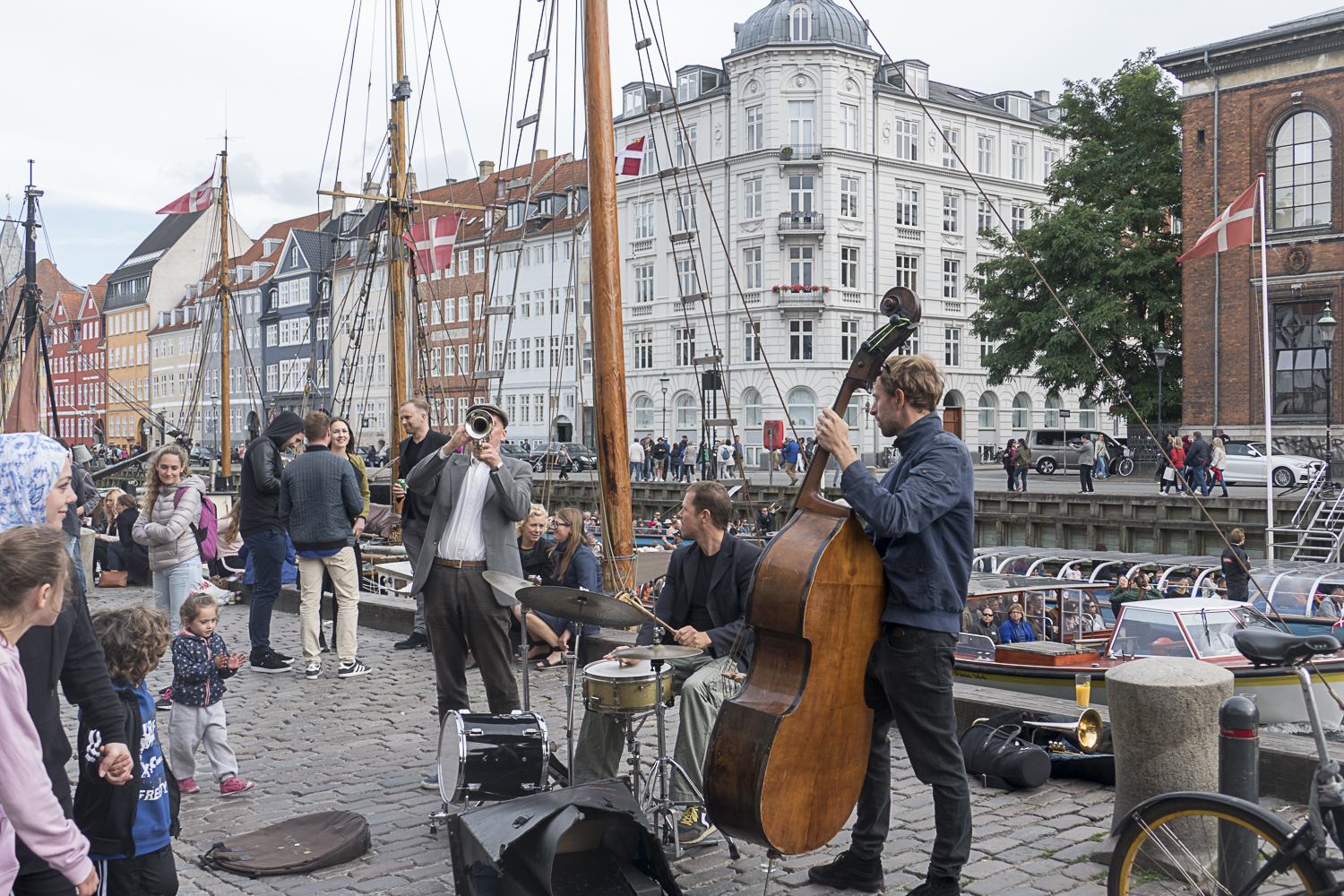 Jazz entertainment at Nyhavn