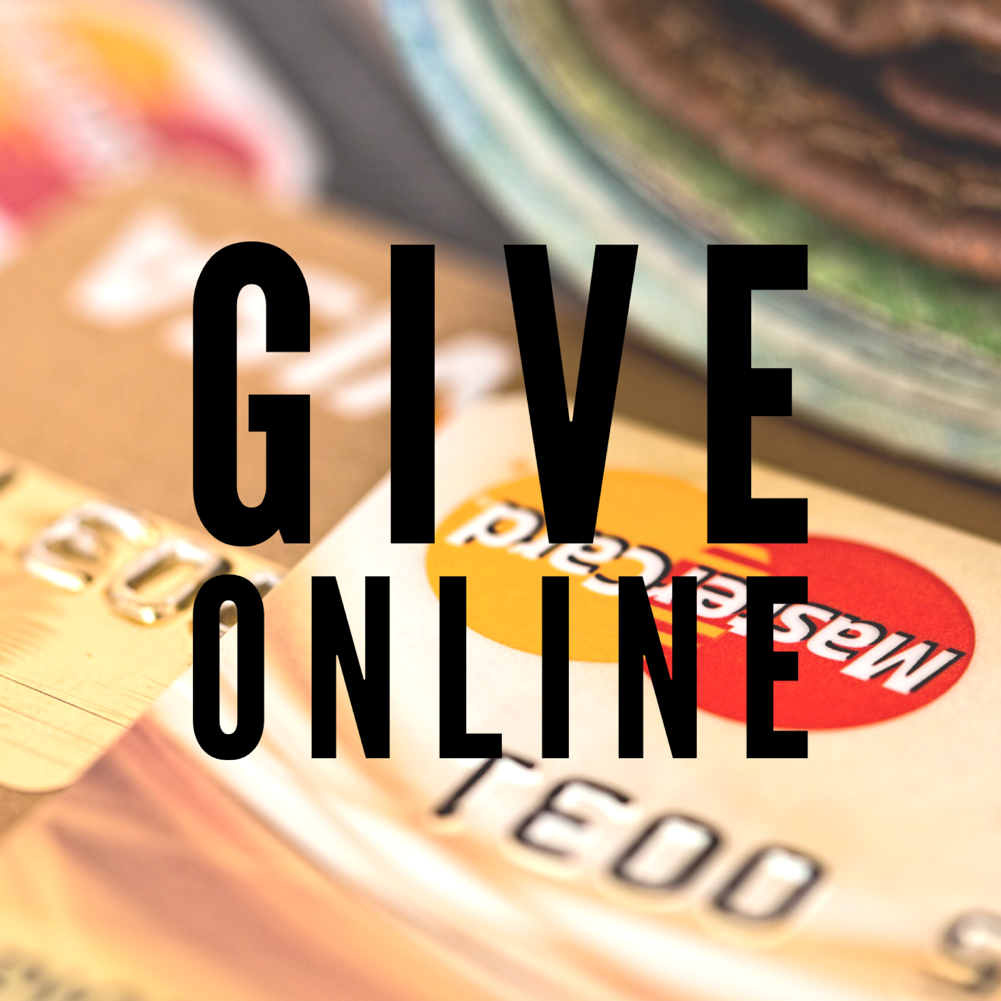 Give online with your credit card   .   Gifts can be made as a one-time donation or as a monthly pledge.  It's simple and easy for you!