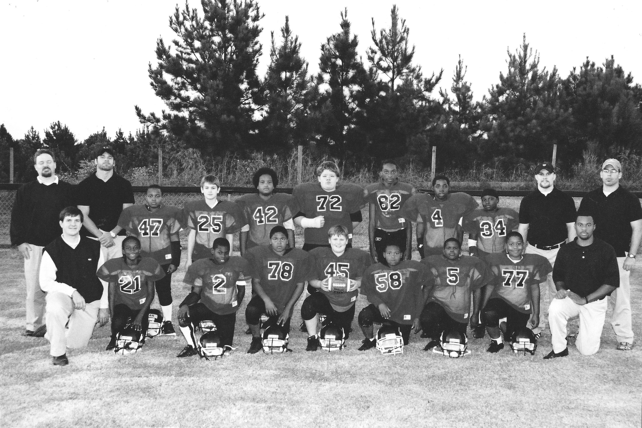 """2003 - Downtown Ministries began as an initiative of Redeemer Presbyterian Church to better reach children in the community. Redeemer started one football team called the """"Falcons"""" and a legacy began."""