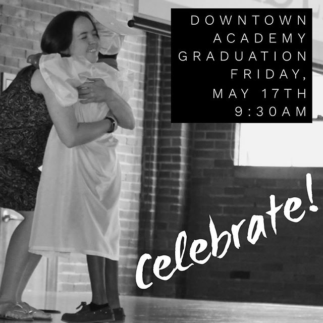 It's time to celebrate! Congratulations, Graduates! 🎓 . . . #downtownacademy #downtownministries #graduation #kindergartengraduation #5thgradegraduation #elementaryschool #celebrate #athensga #athensiloveyou
