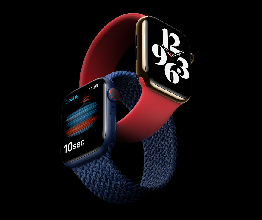 Apple Watch Series 6, Image from Apple.com