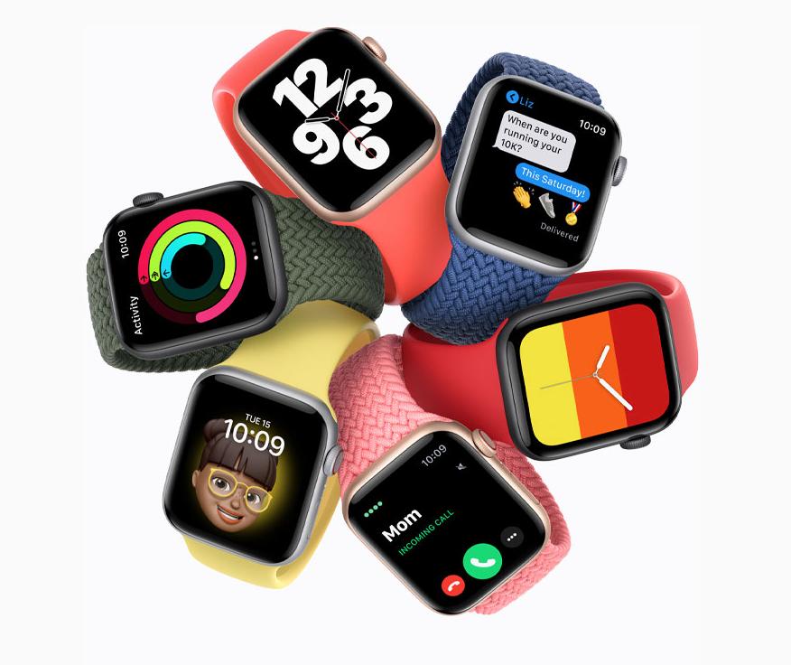 Apple Watch SE, Image from Apple.com