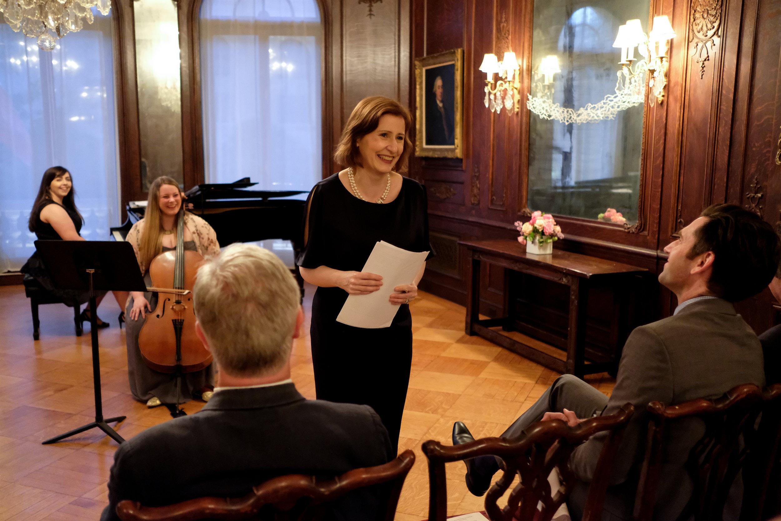 Deborah Kelleher, Director, Royal Irish Academy of Music   Photo credit:    James Higgins