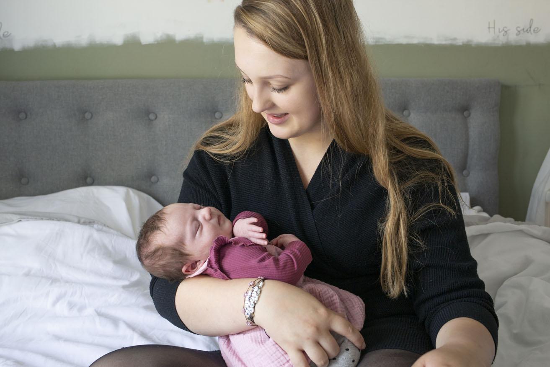 newborn fotoshoot thuis