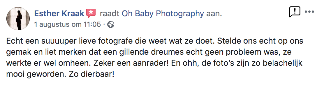review oh baby photography